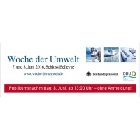 Woche der Umwelt - Publikumsnachmittag<br><span style='float:right; font-size:11px;font-weight:normal;'>© DBU</span>