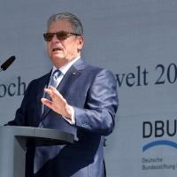 Joachim Gauck_Woche der Umwelt<br><span style='float:right; font-size:11px;font-weight:normal;'>© Deutsche Bundesstiftung Umwelt</span>