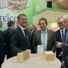 BAU 2017: Staatssekretär Adler informiert sich über Holzbau