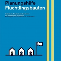 """Handbuch """"Flüchtlingsbauten"""" (Cover)<br><span style='float:right; font-size:11px;font-weight:normal;'>© DOM Publishers</span>"""