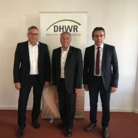 DHWR Amtsübergabe am 14.6.2018 (vlnr Steffen Rathke, Xaver Haas, Erwin Taglieber)
